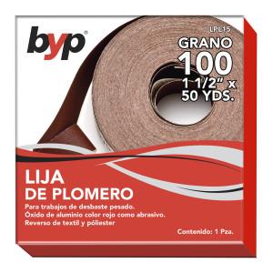 """LIJA DE PLOMERO 1 1/2"""" X 45.7 M"""