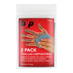 2 PACK TOALLAS LIMPIADORAS